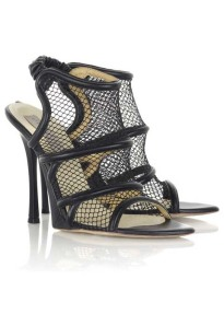Stella McCartney for Net A Porter Mesh Heels