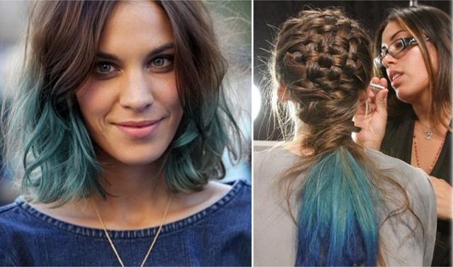 cabelo-colorido-celebridades-hair-colour-alexa-chung-tranca-braid